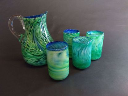 Picture of Set of Pitcher & 4 Tumblers
