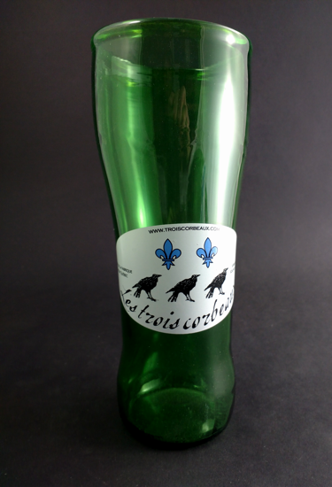 """Picture of Beer Glass """"Classic Green"""""""